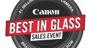 Canon's Best In Glass Sales Event