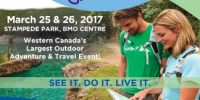 Visit us at the Outdoor Adventure & Travel Show March 25-26
