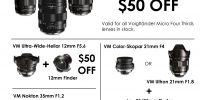 Voigtlander In-Store Sale!