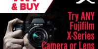 Fuji X Series Try & Buy Program with Free 3 Day Trials