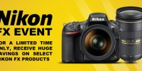 Nikon FX Full Frame Sales Event