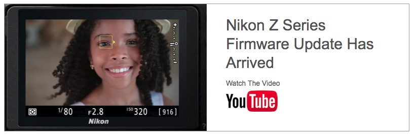 Nikon Z Series Firmware Update Has Arrived – The Camera Store Blog