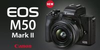 New Canon EOS M50 Mark II For Photography & Video Enthusiasts